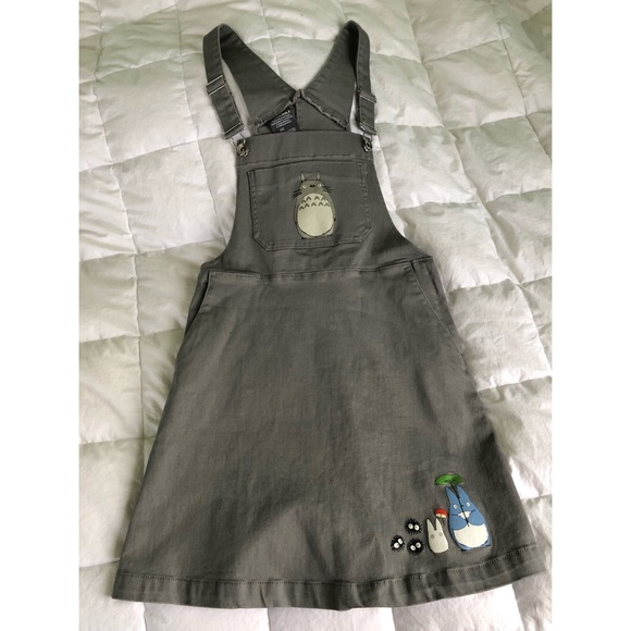 d50b73d4951 Hot Topic Dresses   Skirts - My Neighbor Totoro Overall Dress